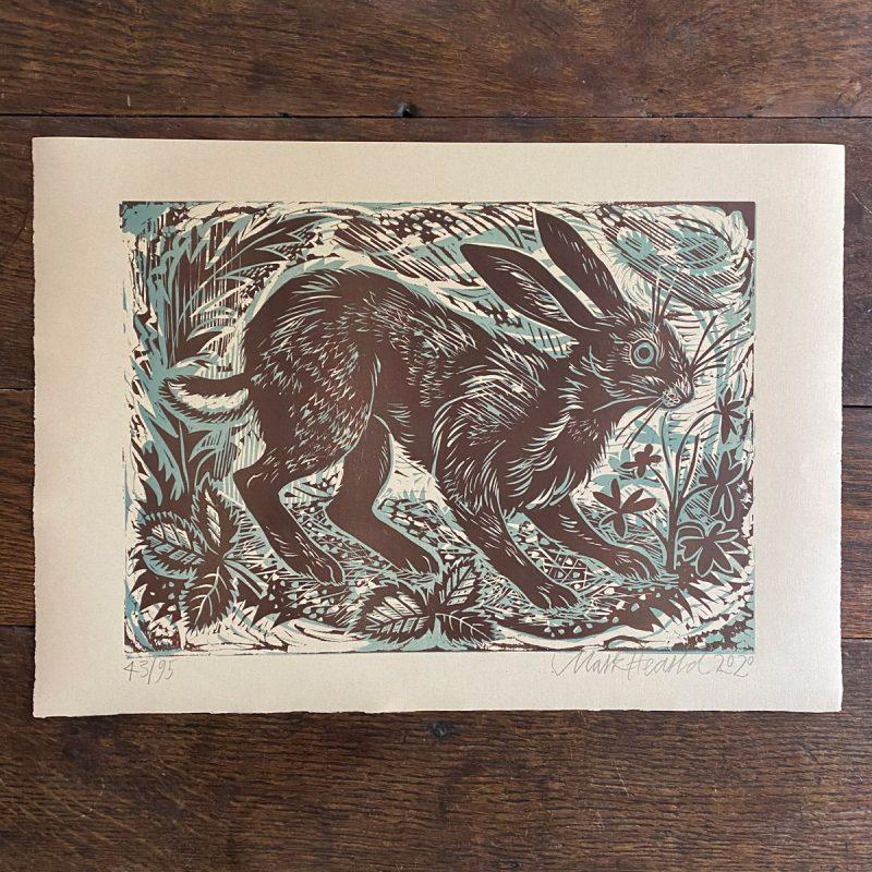 Mark Hearld Hare Print