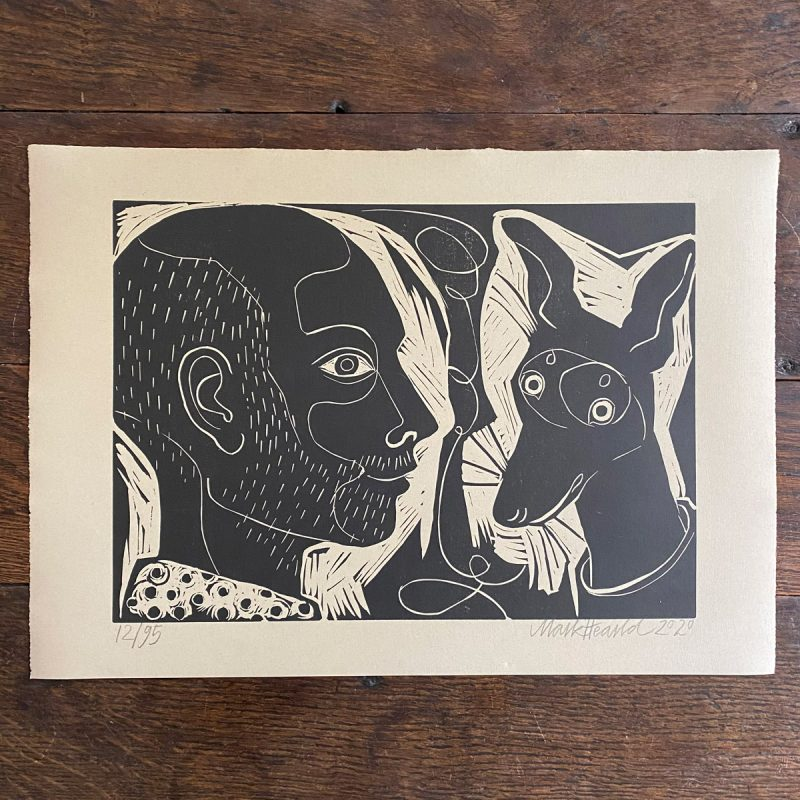 Me and Him Mark Hearld Print Tinsmiths