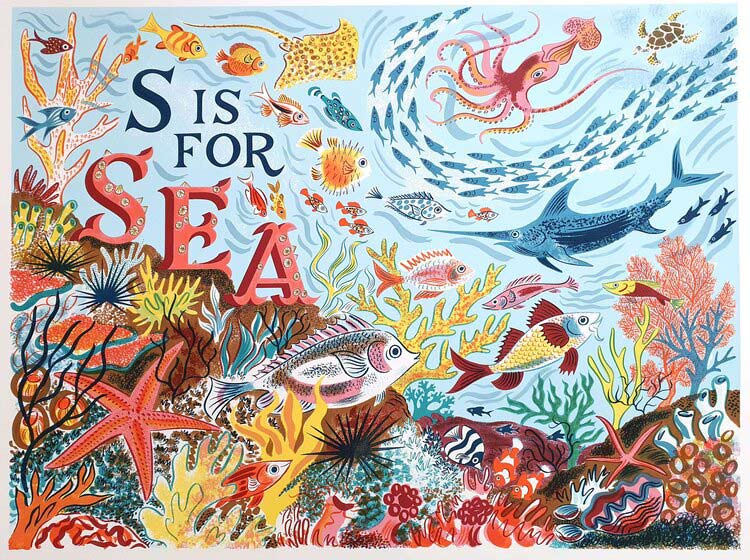 Emily Sutton S is for Sea
