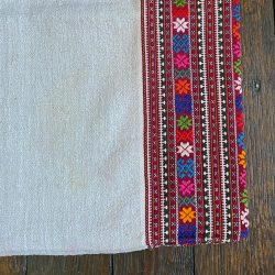 Ukrainian Linen Bolster Cover URC10 Tinsmiths