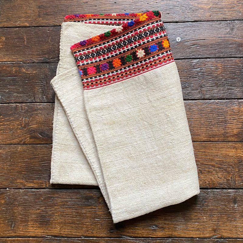 Ukrainian Linen Bolster Cover URC5 Tinsmiths