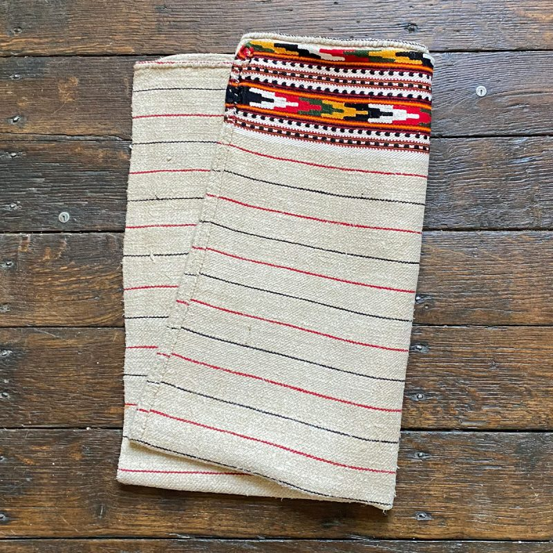 Ukrainian Linen Bolster Cover URC6 Tinsmiths