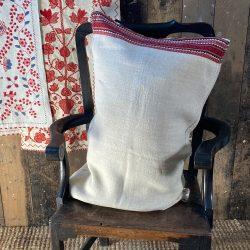 Ukrainian Linen Bolster Cover URC8 Tinsmiths