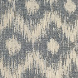 Sabine Ikat Blue Ink