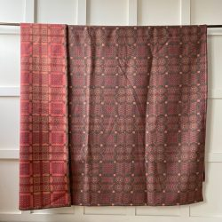 Welsh Blanket or Throw - Copper