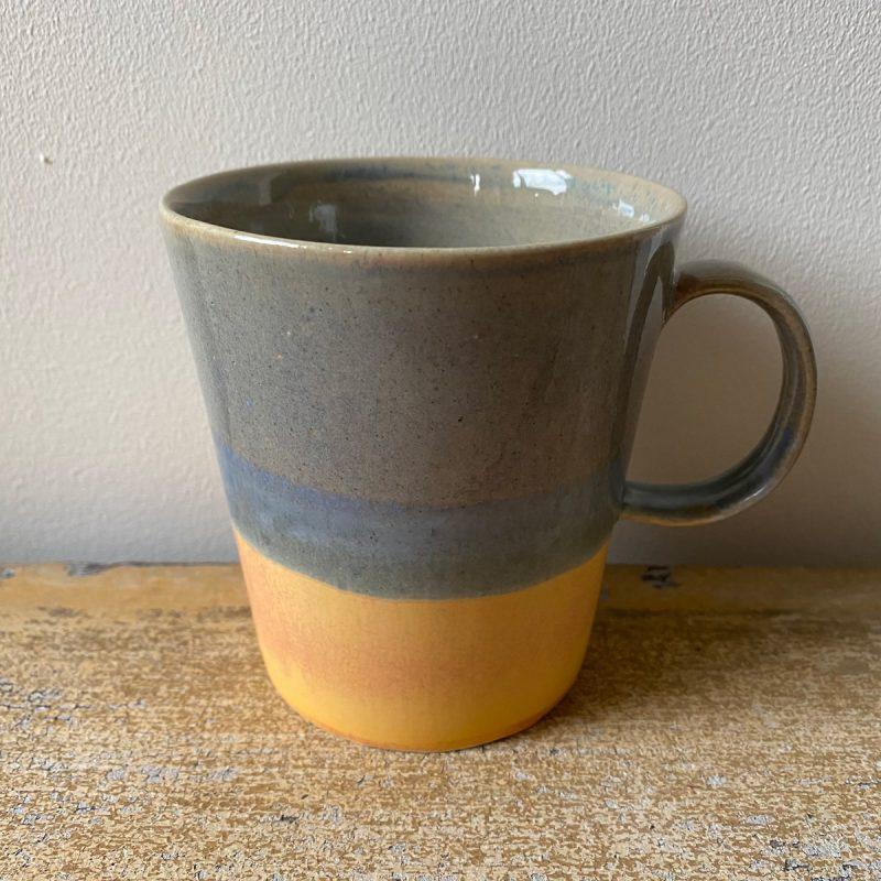 Glazed Porcelain Mugs