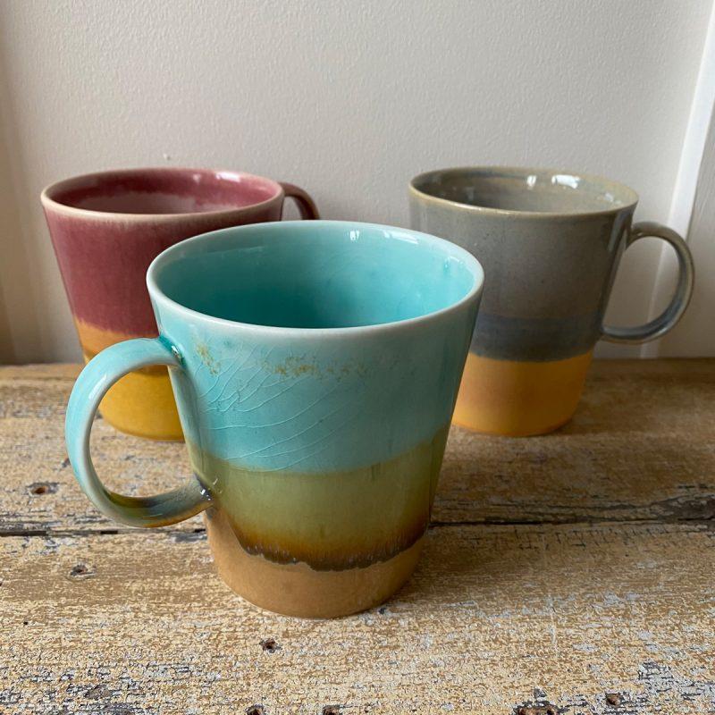 Glazed Porcelain Mug