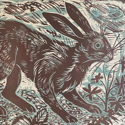 Mark Hearld Hare Print Tinsmiths
