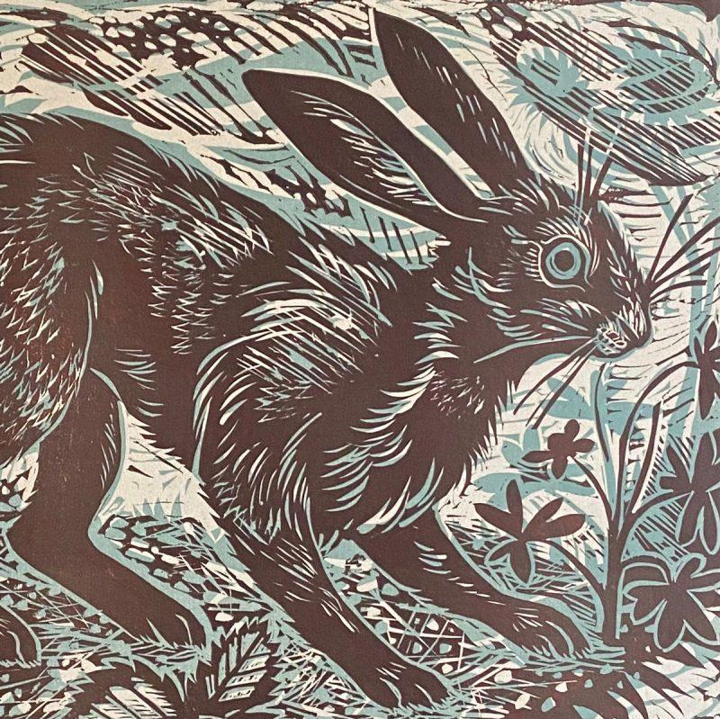 Mark Hearld Hare Print Tinsmiths