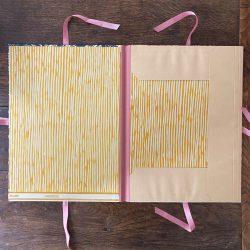 Mark Hearld Handprinted Portfolio - Pink