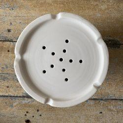 Half-Glazed Porcelain Utensil Drainers