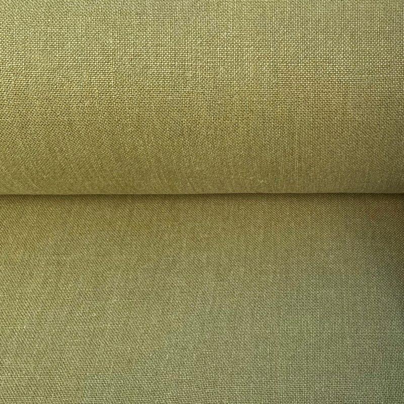 Linen Lavenham - Olive Green