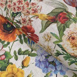 Flora Fabric Natural