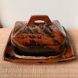 Jack Welbourne Stoneware Butter Dish - JWBD4