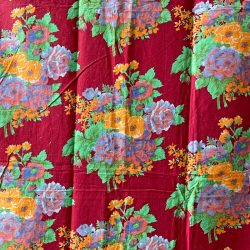 Vintage Russian Roller Printed Cotton - RRPC3