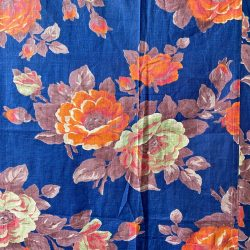 Vintage Russian Roller Printed Cotton - RRPC5