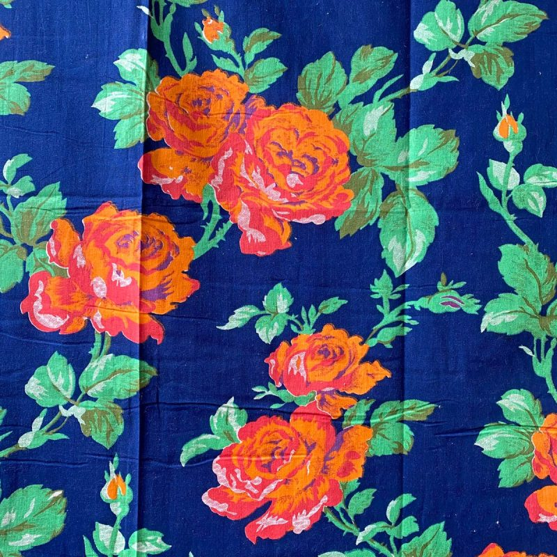 Vintage Russian Roller Printed Cotton - RRPC7