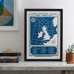 Viking, Unframed Print by James Brown