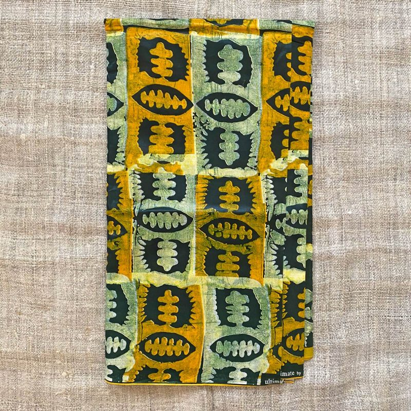 Waxed Cotton Print - WPCA1
