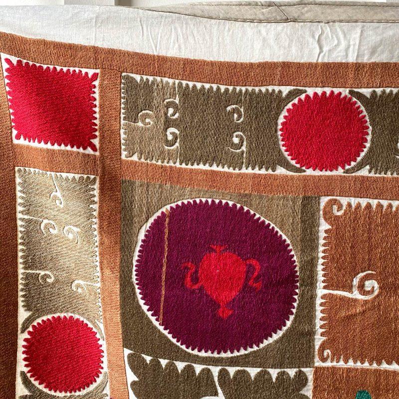 Uzbek Embroidered Suzani - YASM3