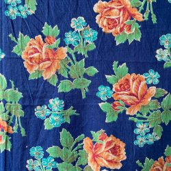 Vintage Russian Roller Printed Cotton - RRPC32
