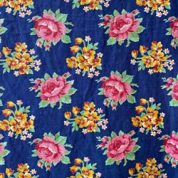 Vintage Russian Roller Printed Cotton - RRPC34