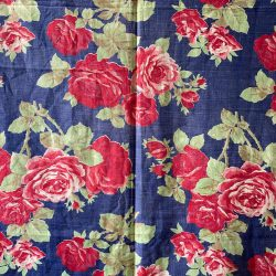 Vintage Russian Roller Printed Cotton - RRPC36