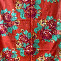 Vintage Russian Roller Printed Cotton - RRPC40