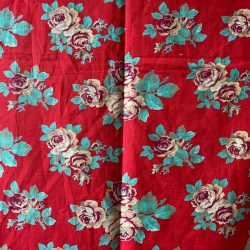 Vintage Russian Roller Printed Cotton - RRPC41