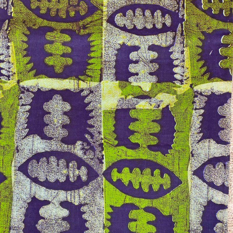Waxed Cotton Print - WCPA16