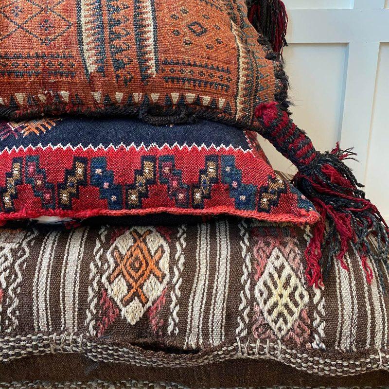 Large Kilim Floor Cushion