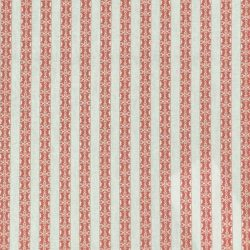 Kasper Stripe - Coral and Ivory
