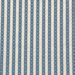 Kasper Stripe - Indigo and Ivory