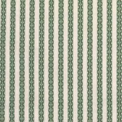 Kasper Stripe - Leaf Green and Ivory
