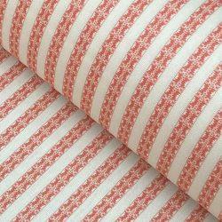 Keswick Stripe Coral