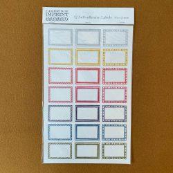 Self-Adhesive Labels Large