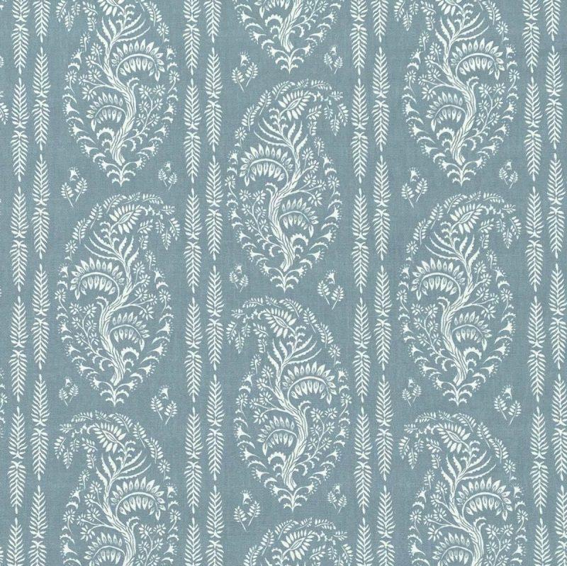 Larisa Stripe - Duckegg and Ivory