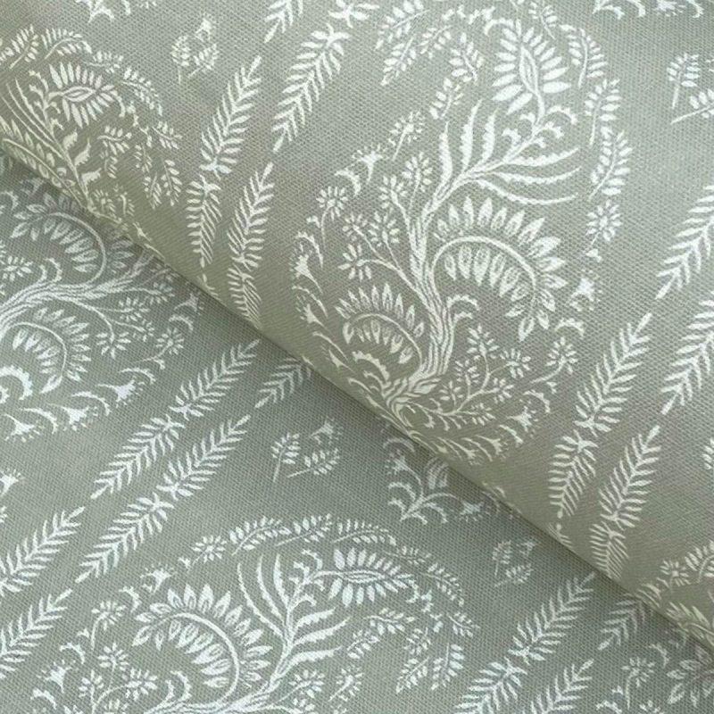 Larisa Stripe - Sage Green and Ivory