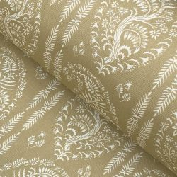 Larisa Stripe - Soft Gold and Ivory