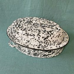 Enamelware Oval Roasting Tin