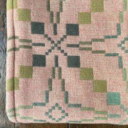 Vintage Star Welsh Blanket - Blossom