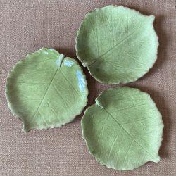 James Burnett Stuart Hazel Leaf Plate Tinsmiths