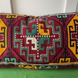 Uzbek Embroidered Mafrash Cushion - NPCS2