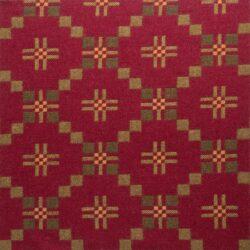 St David's Cross Welsh Throw - Chestnut
