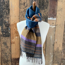 Anouilh teal Scarf Wallace Sewell Tinsmiths