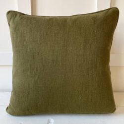 Morris Marigold Pink Olive Cushion Tinsmiths