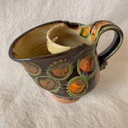 French Country Pottery Sauce Jug - FCPBEC1