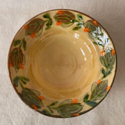 French Country Pottery Salad Bowl - FCPBSA1