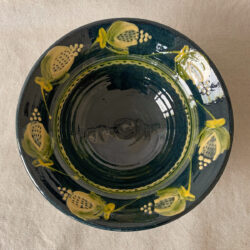 French Country Pottery Salad Bowl - FCPBSA2
