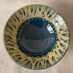 French Country Pottery Salad Bowl - FCPBSA3